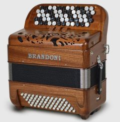 Brandoni 181W chromatic button accordion