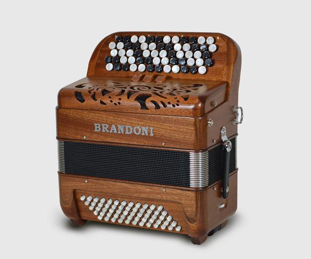 Brandoni 181W chromatic button accordion