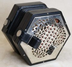 Wheatstone English concertina