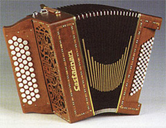 Castagnari Magica chromatic button accordion